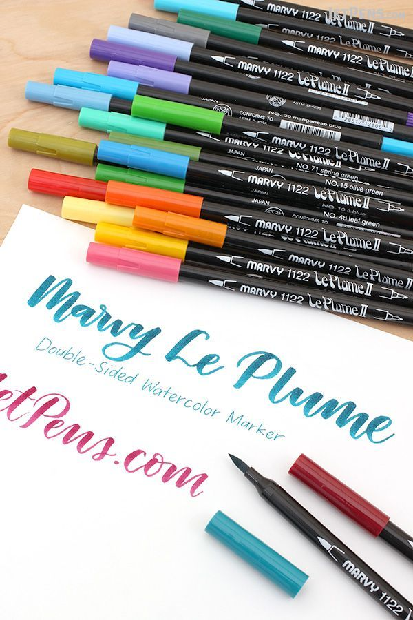 MARVY twin marker Le Plume II 12 colors sets Free shipping New Japan