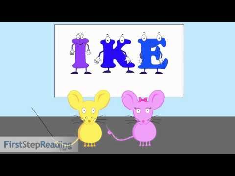 Long Vowel I Vowel Consonant Vowel, Beginning Readers Grammar Phonics Lesson - YouTube