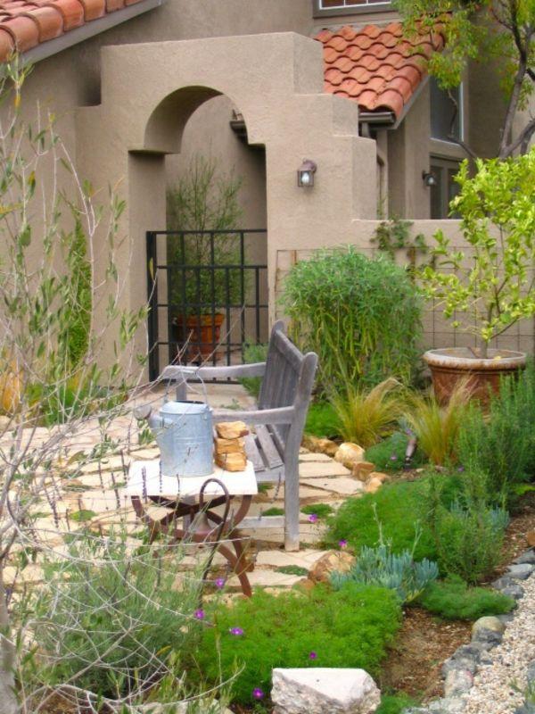 mediterrane gartengestaltung - 45 gartenideen und gartenmöbel, Gartenmöbel
