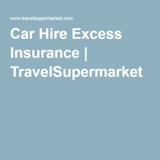 Car Hire Excess Insurance From 2 99 Per Day
