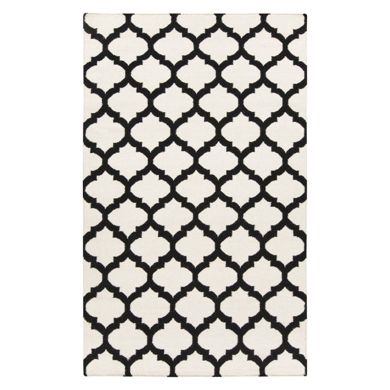 Surya Frontier FT-534 Area Rug Ivory Black Pattern 2 - FT546-3656