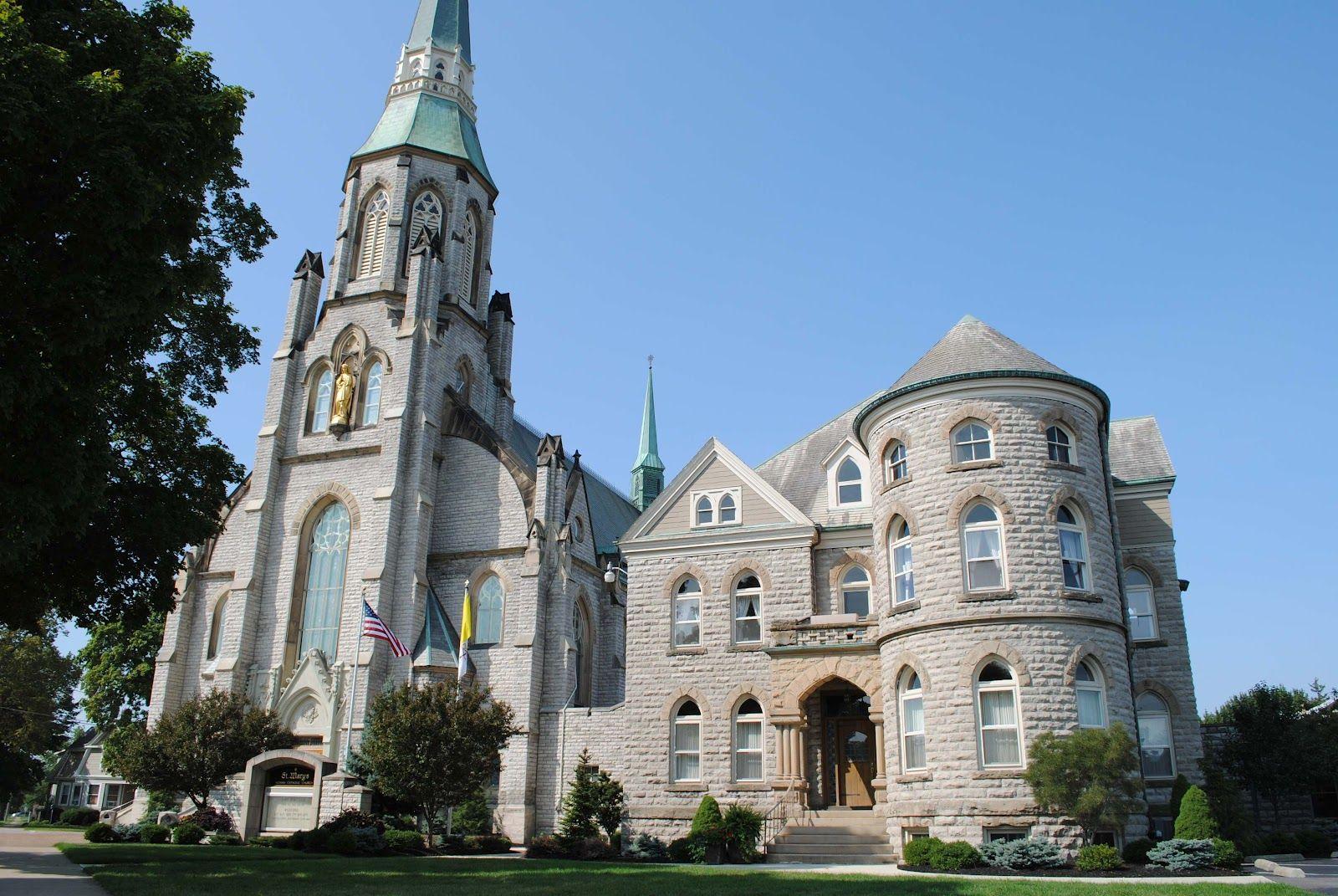St Mary S In Sandusky Ohio Churches Sandusky Ohio