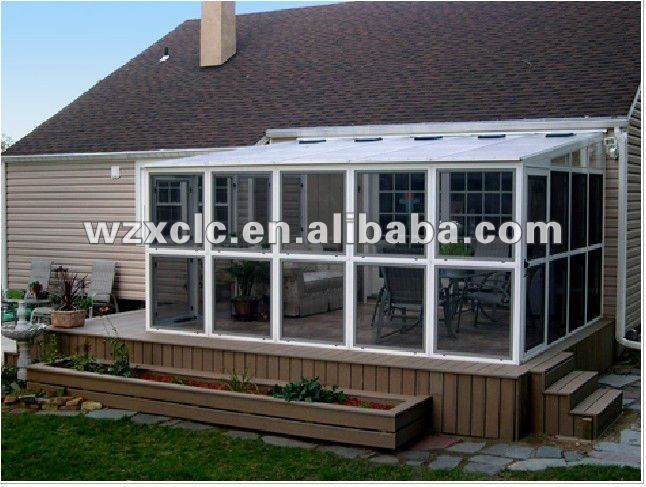 Lowe S Patio Enclosures Curved Roof Aluminium And