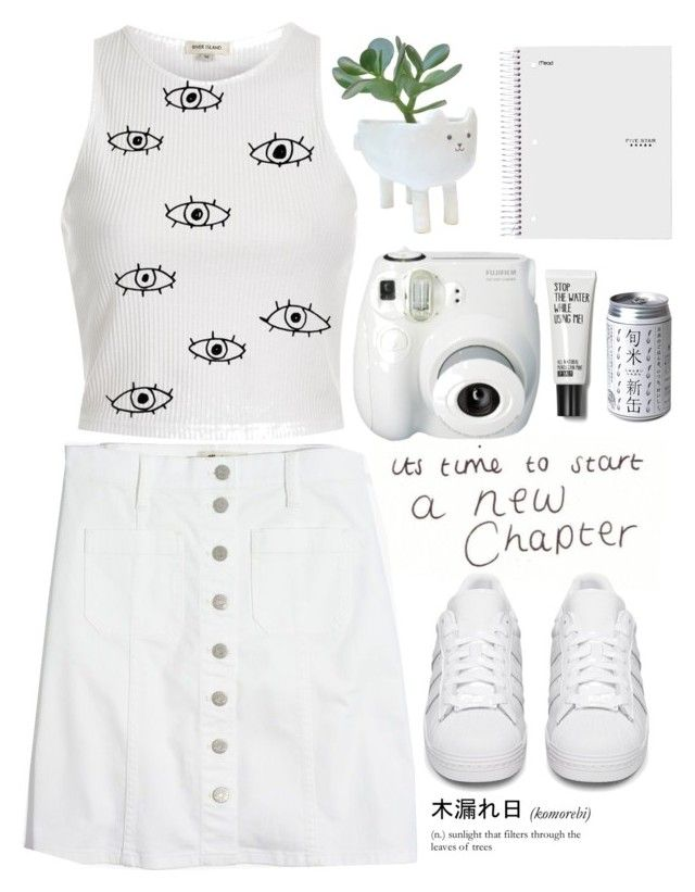 """Untitled #75"" by naomi-sd on Polyvore featuring Madewell, River Island and adidas Originals"