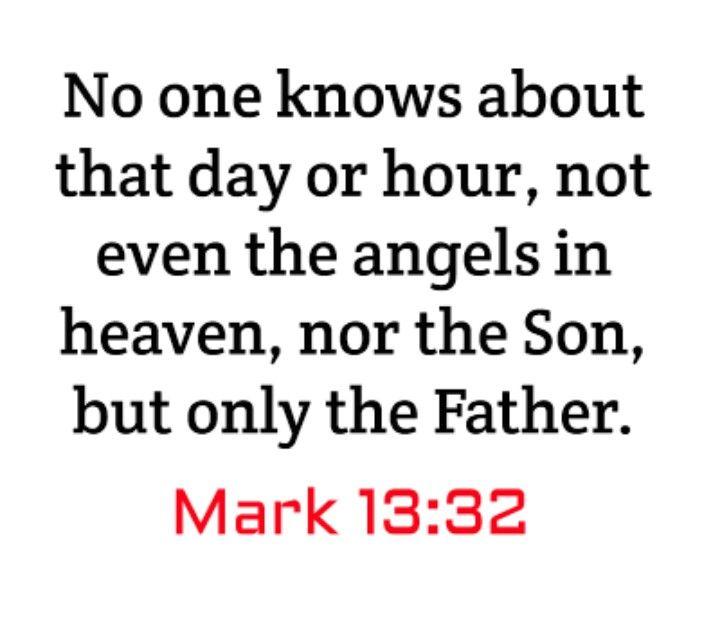 Kuvahaun tulos haulle Mark 13:32