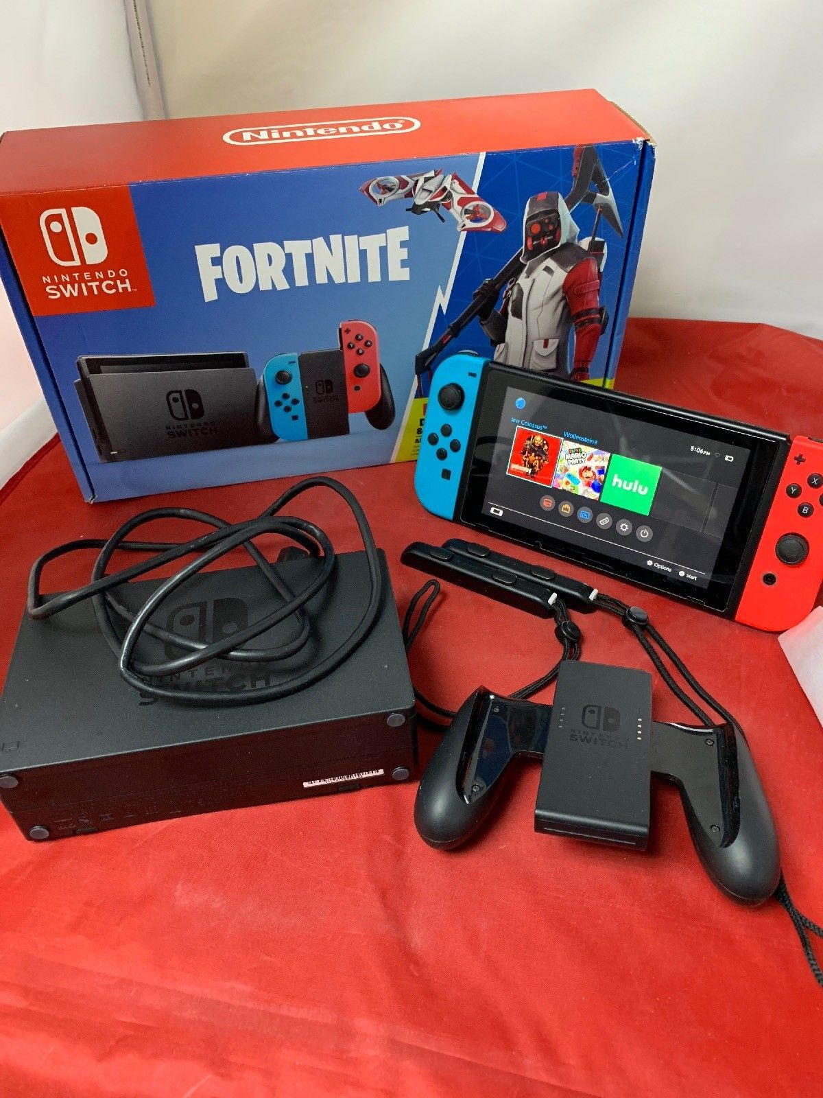 Nintendo Switch Fortnite Double Helix Console Bundle Account Linked Fortnite Nintendo Nintendo Switch