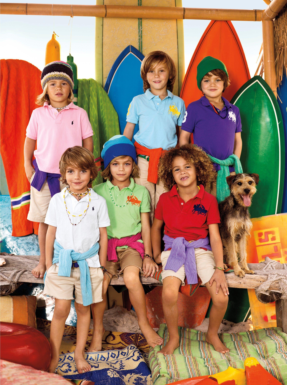 New summer kids collection by ralph lauren exclusive photo