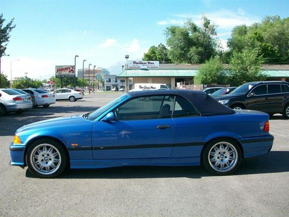 1999 BMW M3 Convertibleused to have one of these, same