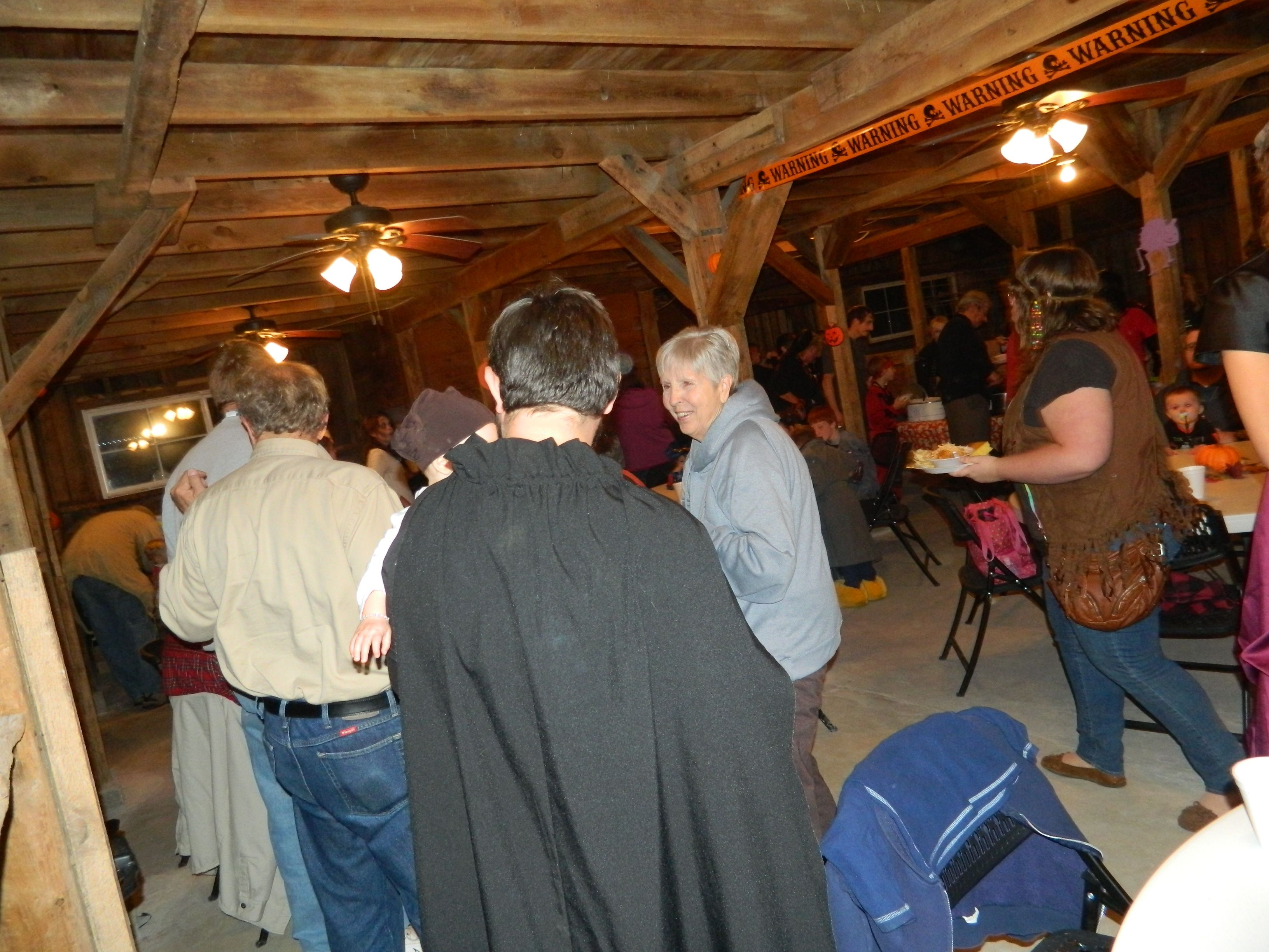 Church group does Halloween party inside the Wedding Barn/Events ...