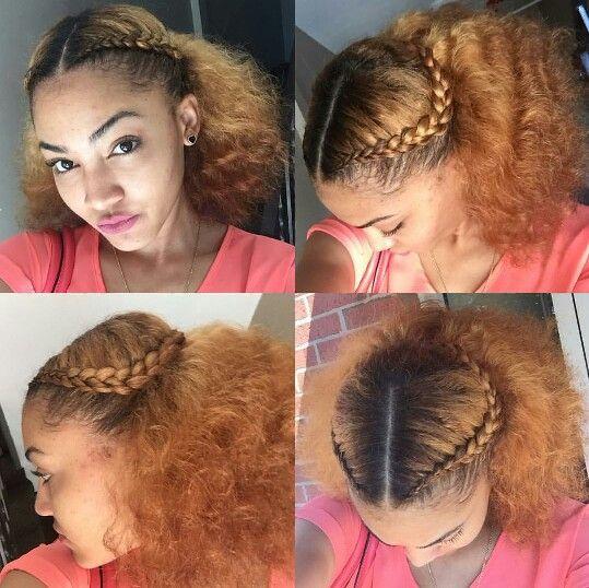 Cute Hairstyle Natural Hair Blowout Natural Hair Braids