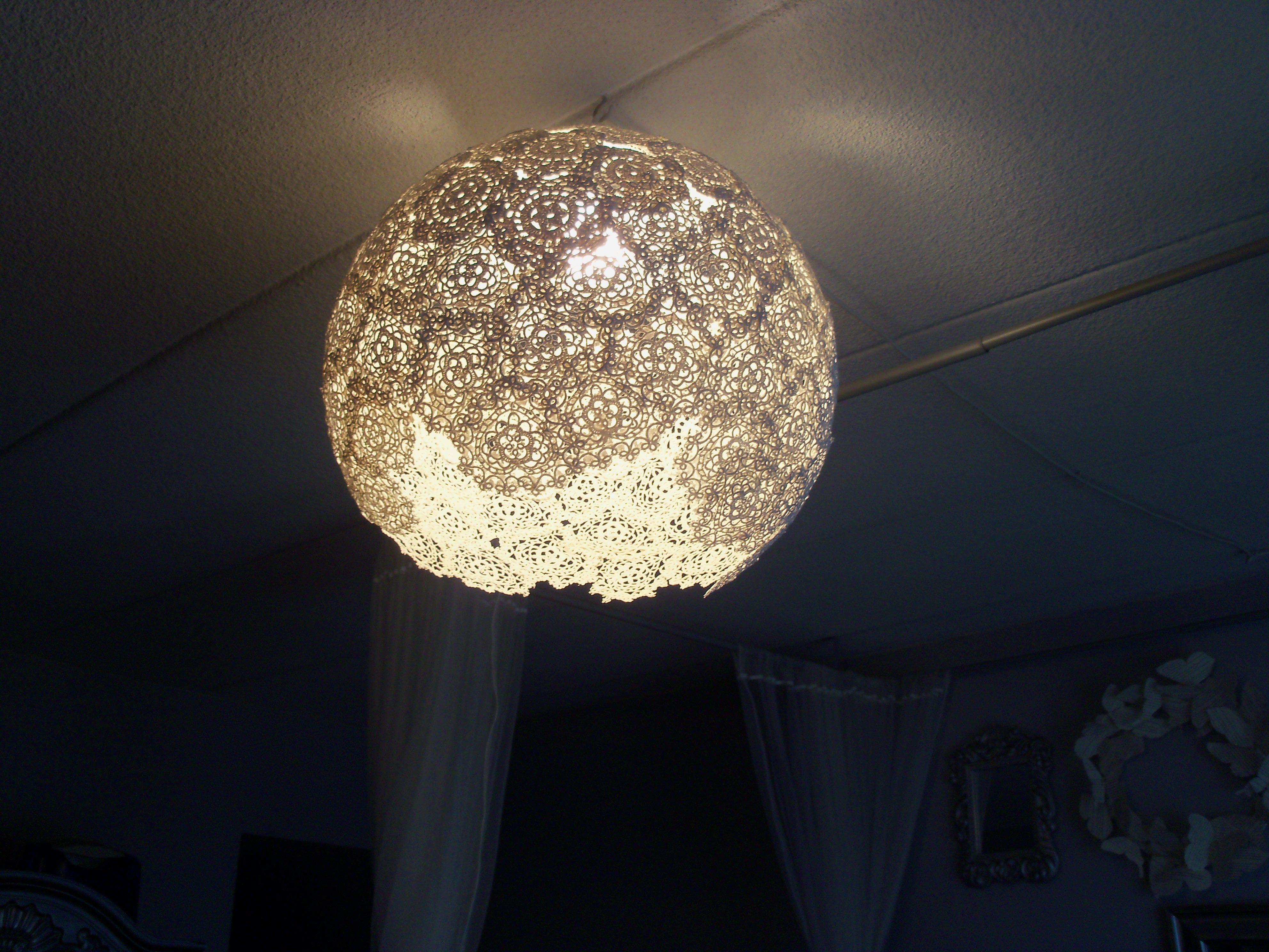 Diy lace doily lantern grace helene jewelry accessories crafts diy lace doily lantern grace helene jewelry accessories arubaitofo Image collections