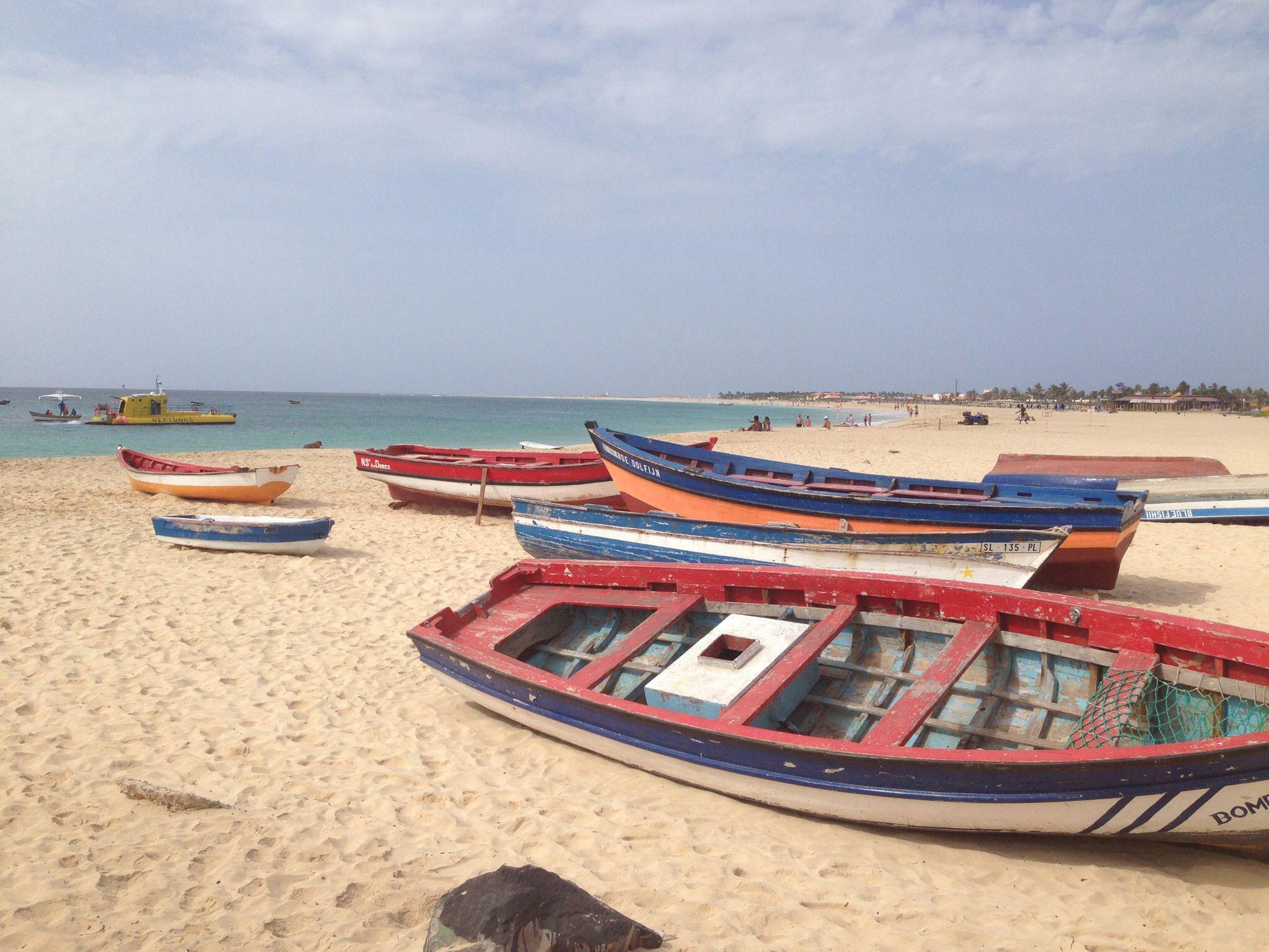 Sal, Cabo Verde, Playa de Santa María