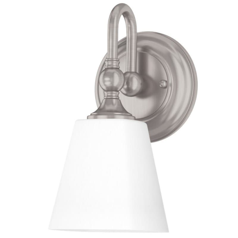 Photo of Miseno ML4634VL Ventura Single Light 11″ Tall Bathroom Sconce Brushed Nickel Indoor Lighting Bathroom Fixtures Bathroom Sconce