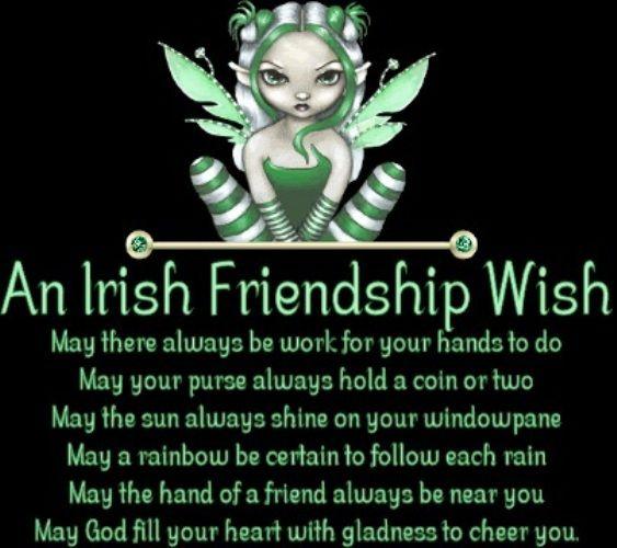 An #Irish friendship wish