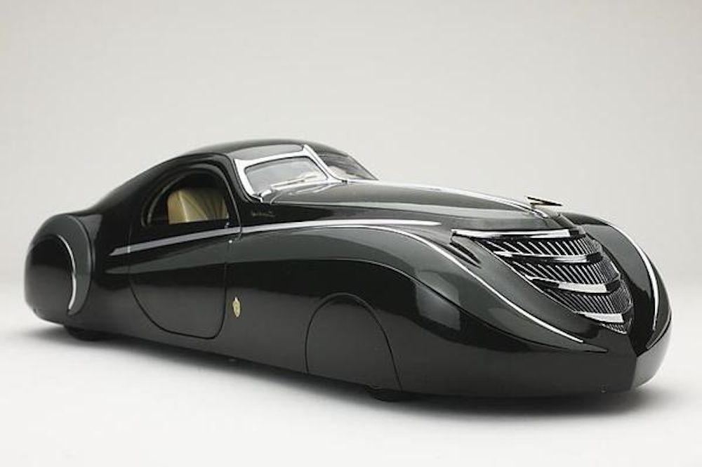 1939 Duesenburg Coupe Simone Midnight Ghost Futuristic Cars
