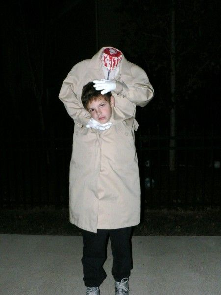 Halloween Boys Headless Horseman Child Costume