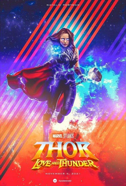 Thor Love And Thunder Karolina Byliniak Thor Marvel Comic Universe Marvel Heroes