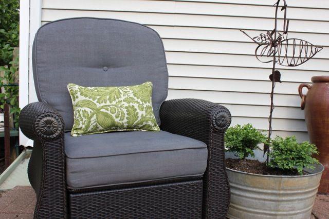 Spray Paint Outdoor Cushions Wickerbedroombohemian Wicker