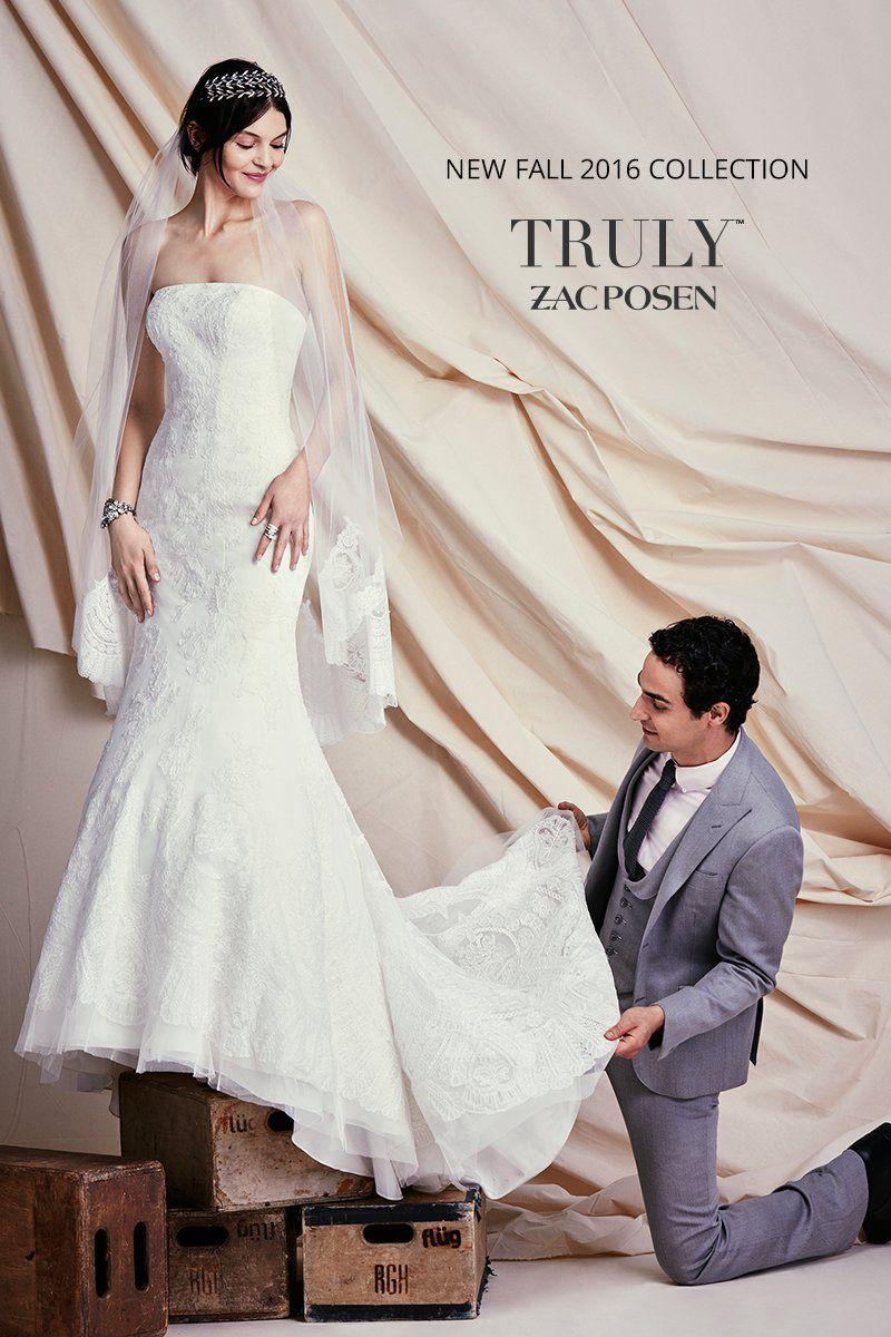 Brand New Truly Zac Posen Designer Wedding Dresses Have Arrived At David S Bridal Come Find The One For You Wedding Dresses Bridal Dresses Glamorous Bride [ jpg ]