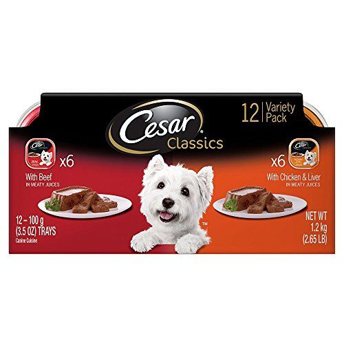 Cesar canine cuisine variety pack beef and chicken liver dog food cesar canine cuisine variety pack beef and chicken liver dog food trays 35 ounces forumfinder Images
