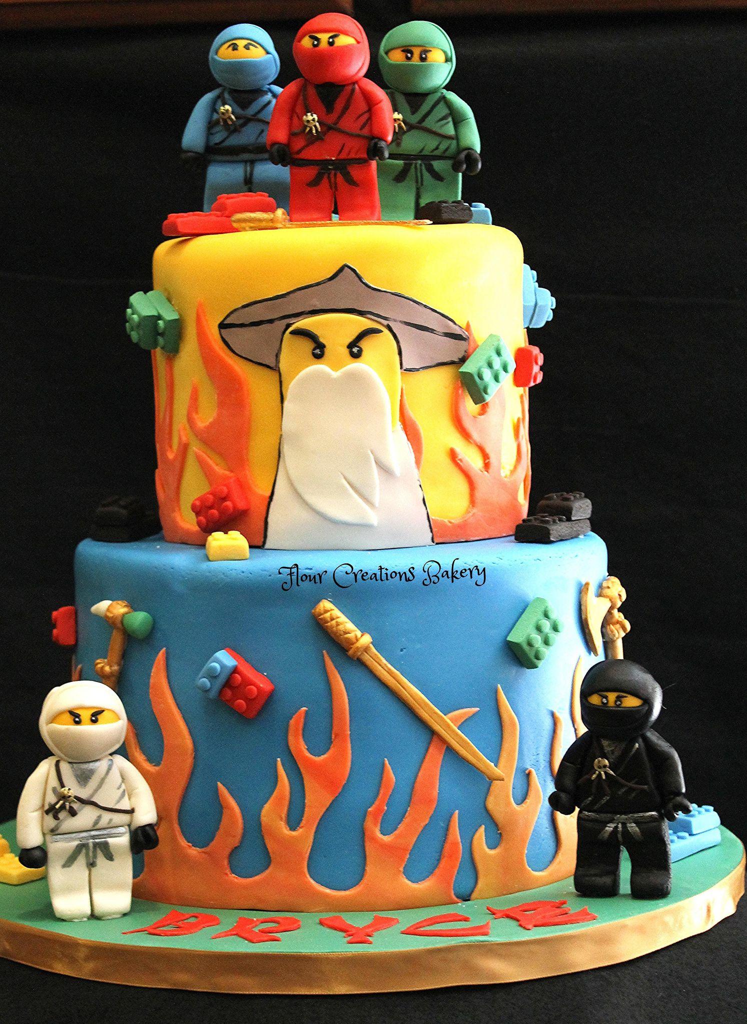 Super Img 2760 With Images Ninjago Cakes Boy Birthday Cake Funny Birthday Cards Online Alyptdamsfinfo