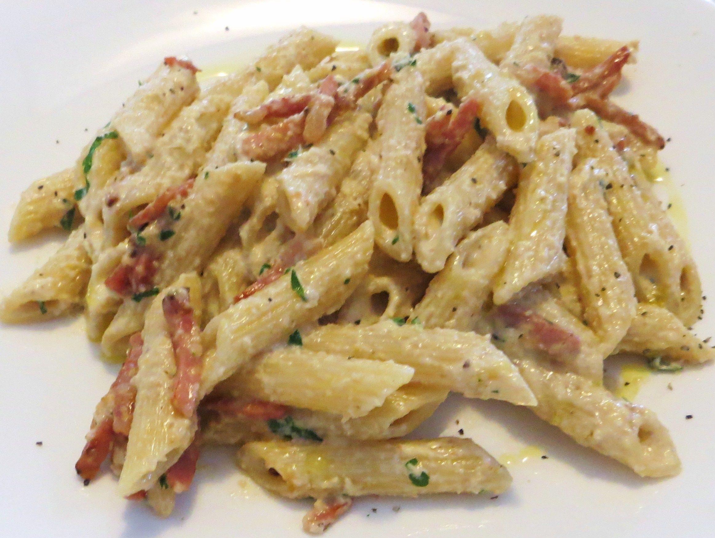 Favori Penne con crema di noci, carciofini e speck | Recipe | Pasta  LY82
