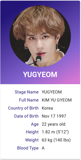 Kim Yugyeom Got 7 Kpop Profile Kpop Profiles Yugyeom Kim Yugyeom