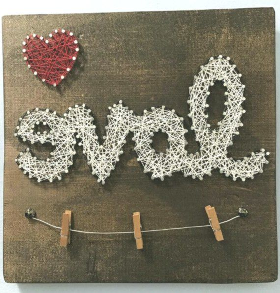 Just in time for Valentines Day!!  Hand stained wo...