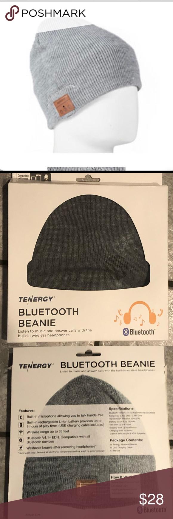 1c6871e45 NIB Tenergy Bluetooth Beanie NWT in 2019 | My Posh Picks