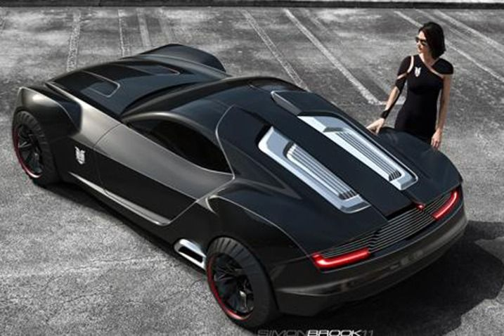 Overhead Shot Of Ford Concept Car For A Modern Mad Max Http Palmcoastford Com Concept Cars Car Ford Mad Max