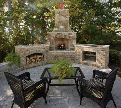 Brick Grills And Outdoor Countertops Building Your: An Outdoor Room Can Add Usable And