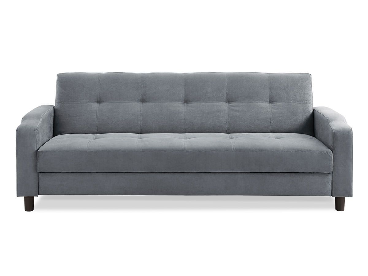 modern futon sofa bed. Reno Convertible Sofa Dark Grey By Serta / Lifestyle Modern Futon Bed