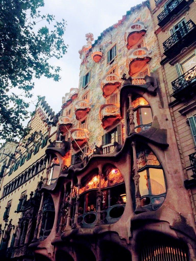 Barcelona Casa Battlo Casas Espanha Catalunha