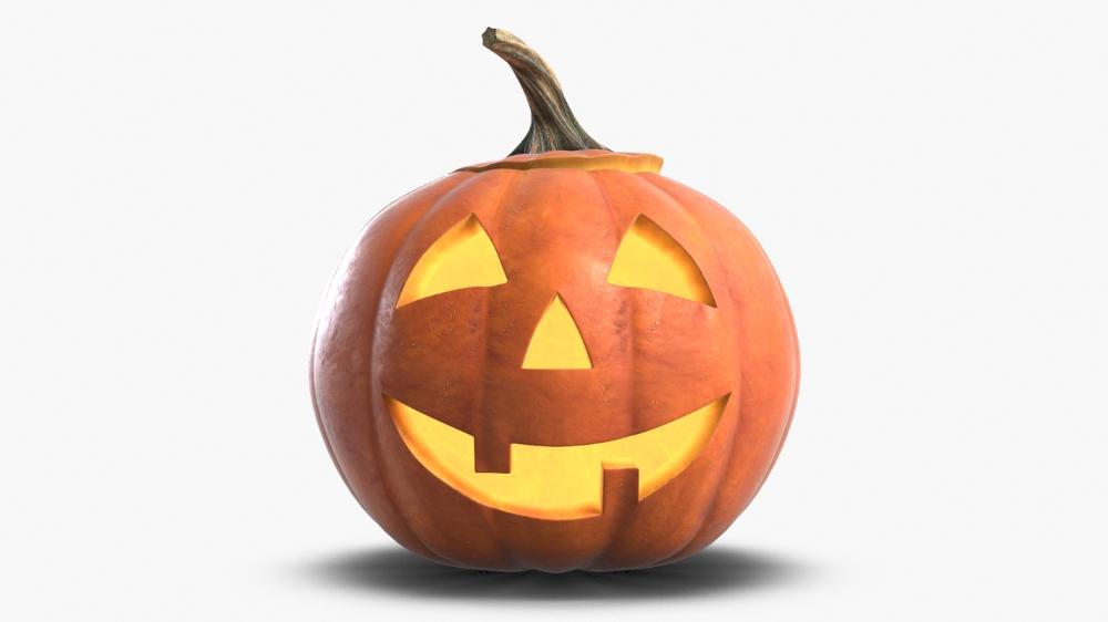 3d Jack O Lantern Pumpkin Head 1 Turbosquid 1446592 Pumpkin Head Jack O Lantern Pumpkin