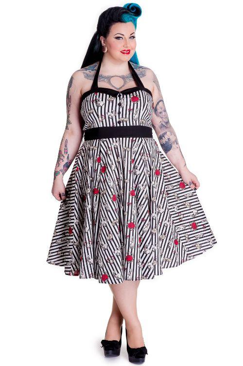 Domino Dollhouse Plus Size Clothing Alice 50s Dress Closet Full