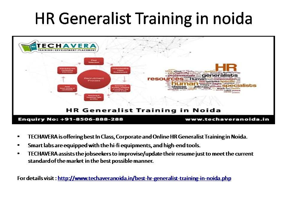 Hr Generalist training course is especially aimed to aid the