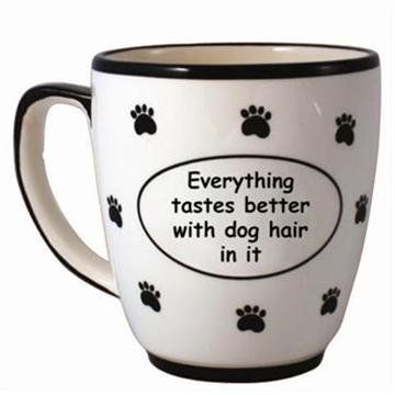 Everything Tastes Better Ceramic Coffee Mug: Amazon.com: Kitchen & Dining $18.03