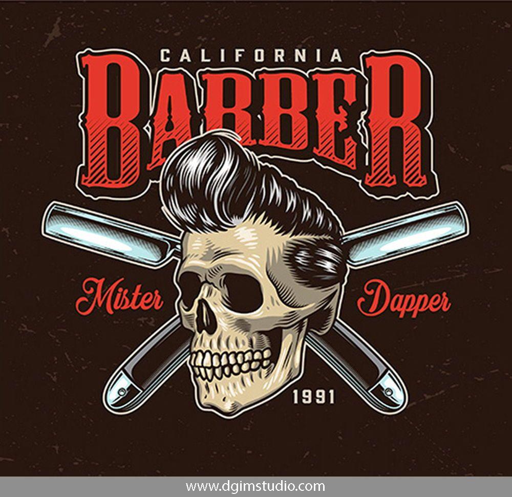 41 Vintage Barbershop Designs Barber Shop Barbershop Design Vintage Graphic Design