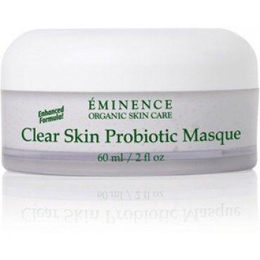 Eminence Organics Clear Skin Probiotic Masque 2oz Eminence Organic Skin Care Organic Skin Care Clear Skin