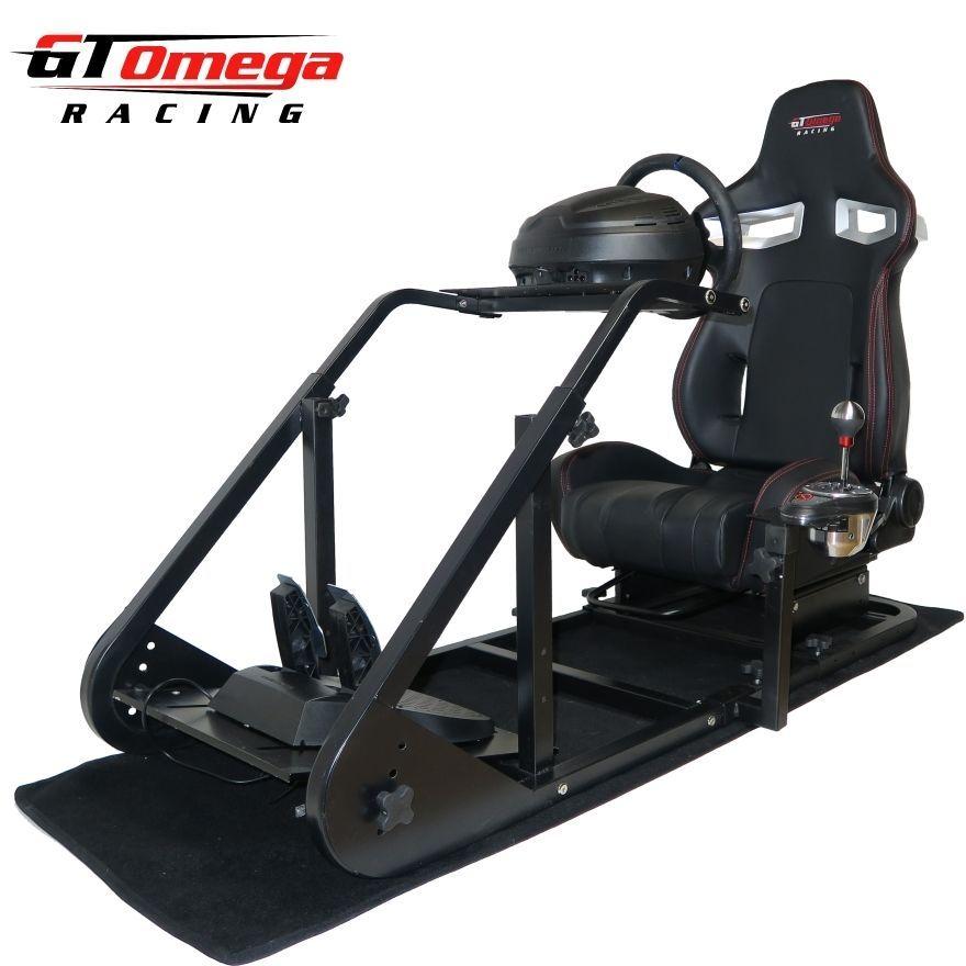 gt omega art simulator cockpit rs9 for thrustmaster t300 rs racing wheel ps4 projets essayer. Black Bedroom Furniture Sets. Home Design Ideas