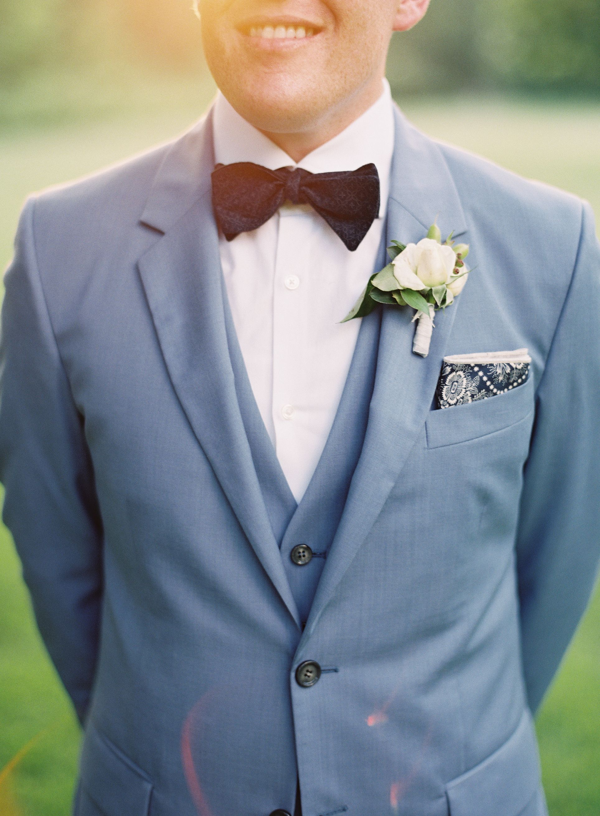 Groom in Blue Suit | Pinterest | Grooms, Wedding and Wedding suits