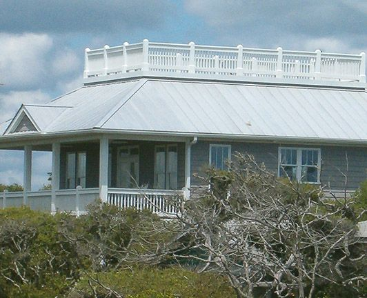 The Porches Cottage with a Roof Deck gives you a different view of