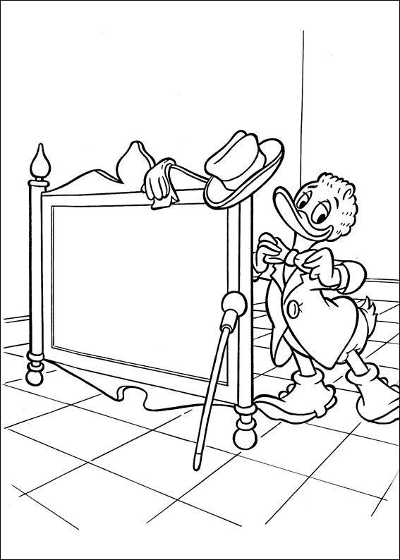 Dibujos para Colorear El Pato Donald 12 | Dibujos para colorear para ...