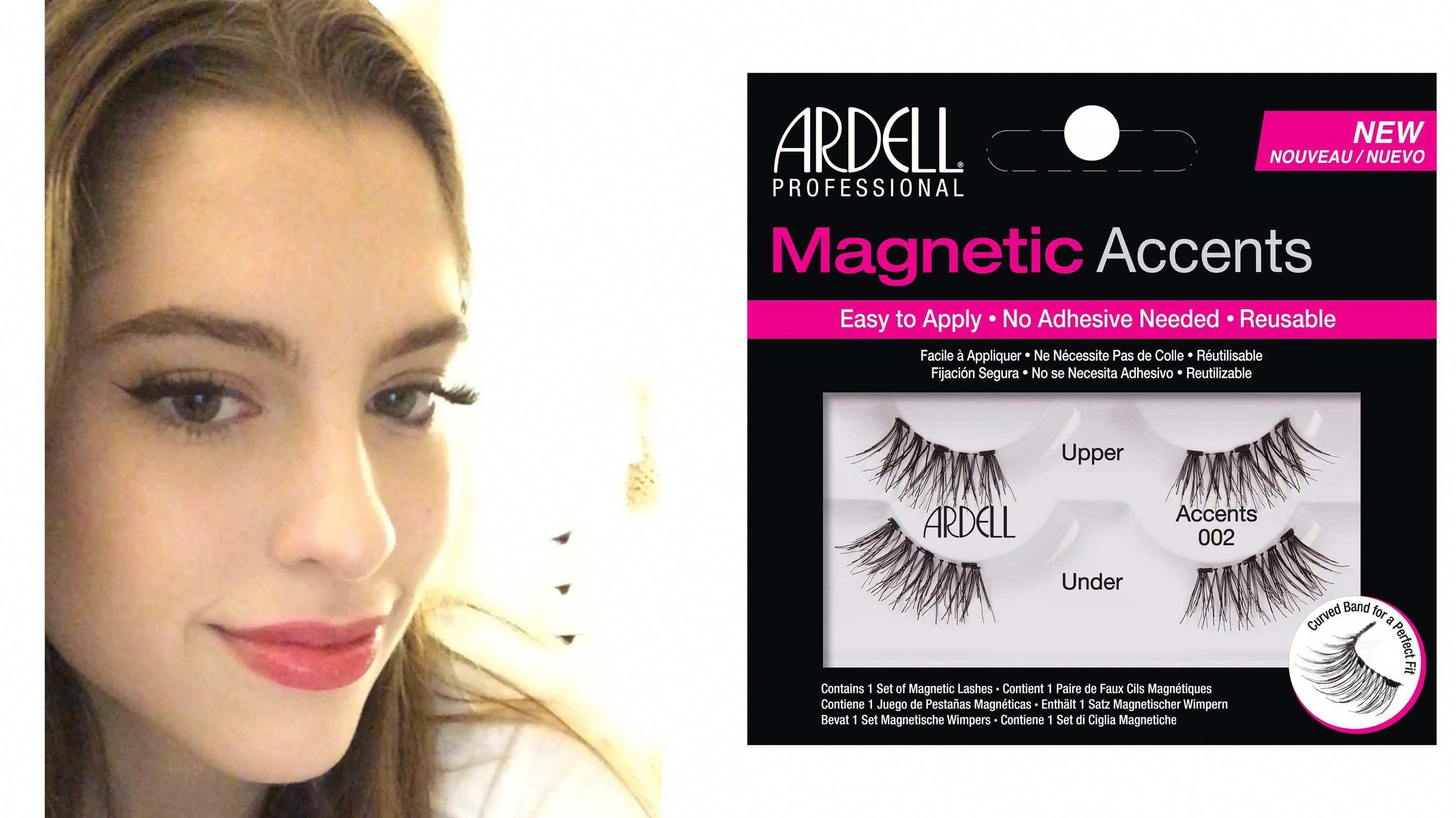 e5f1d25ce4a I can't apply false lashes to save my life, so I tried these magnetic false  lash strips and they are a real game-changer. #Lashes