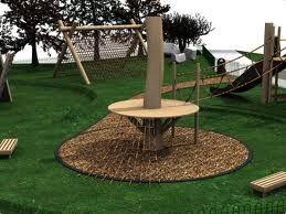 Backyard Zip Line Ideas landing platform   tree platform ...