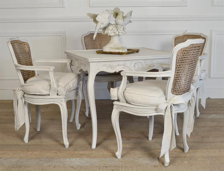 Antique Cane Back Dining Chairs From Full Bloom Cottage
