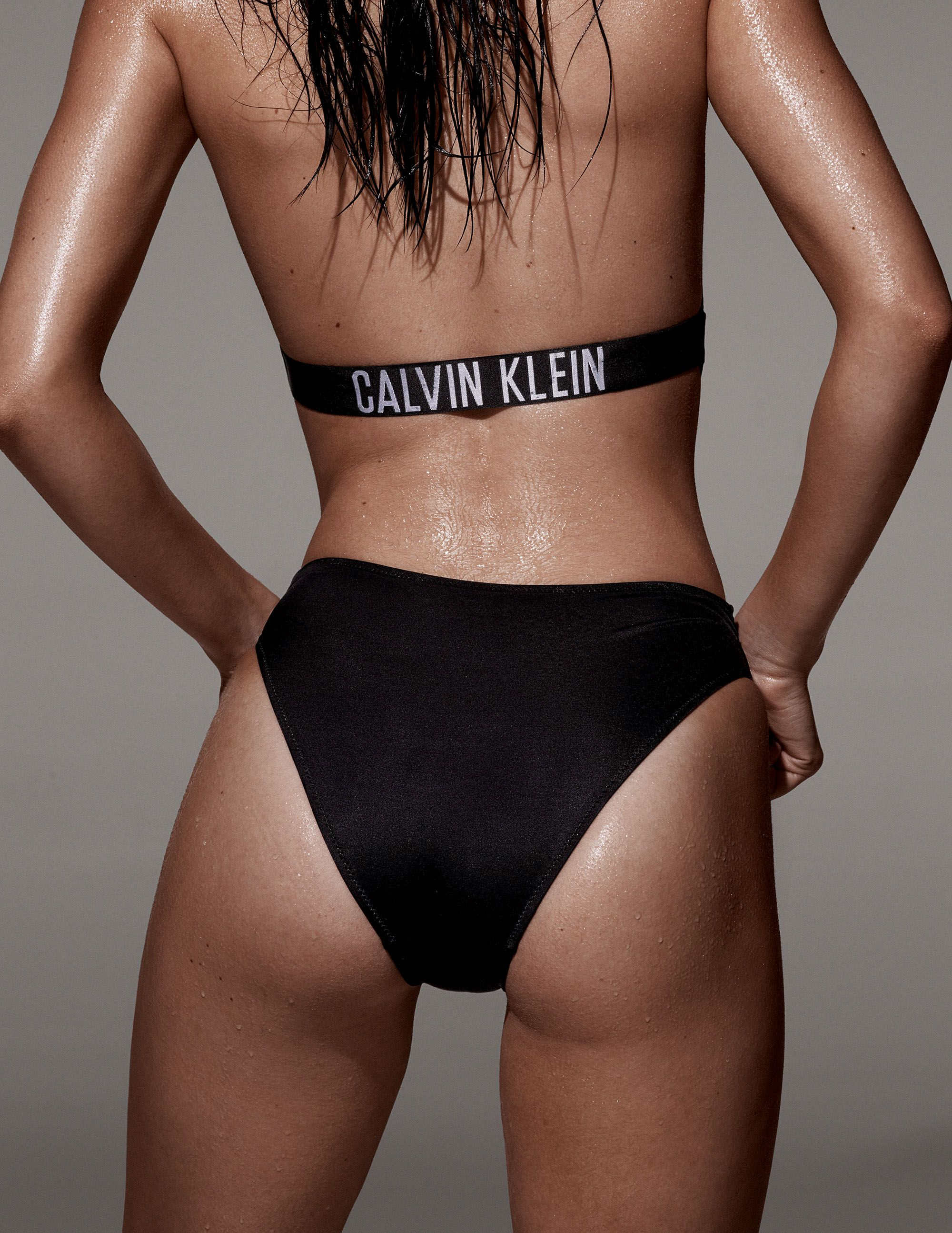 44c71c59286 Kendall Jenner celebrates the return of Calvin Klein swimwear in the  Intense Power one-piece suit. Photographed for LOVE magazine.  mycalvins