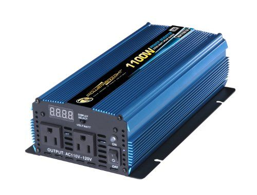 Power Bright Pw1100 12 Power Inverter 1100 Watt 12 Volt Dc To 110 Volt Ac Review Feature Of Power Bright Pw1100 12 Power Inverter 1100 Watt 1 Electronic Recycling Electronics Home Depot