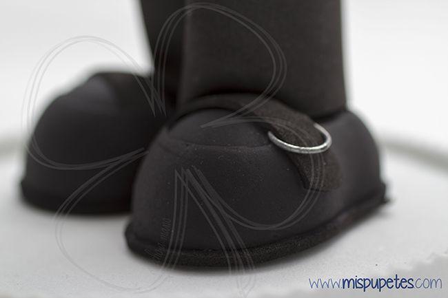 Zapatos fofuchas para CSR Spain 2014 www.mispupetes.com