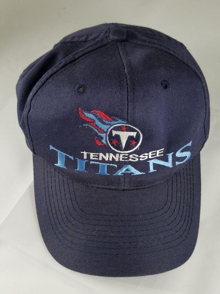 Vintage Collectible Tennessee Titans Otto Cap Blue Snap Baseball Cap One  Size  OttoCap  BaseballCap 98d3e73d26f